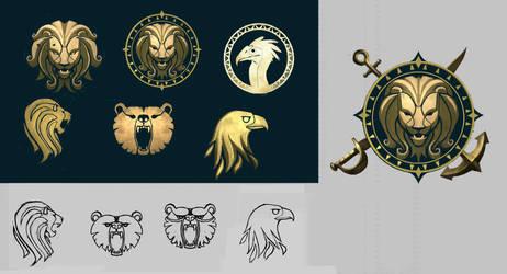 LionArch Emblem by NickWiley