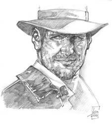 Indiana Jones by LudoLullabi