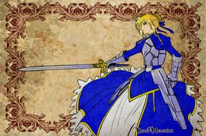 Fate/Zero Saber by NekoMelchiah