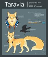 Taravia 2017 reference sheet by FoxifyArt
