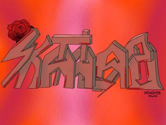 Vector graffiti Skatalapu by pro55series