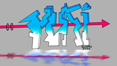Yuki Vectored Graffiti by pro55series