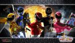 Power Rangers Megaforce Wallpaper 4 by scottasl