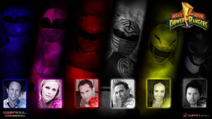 MMPR Season 3 Cast Wallpaper by scottasl