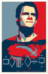 Henry Cavill Superman Hope by Amani-the-Wise