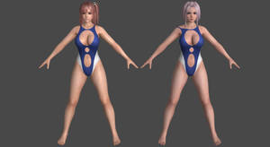 DoAX3- Bay Leaf - Pack #1 for XPS! by DoraiBoonzu