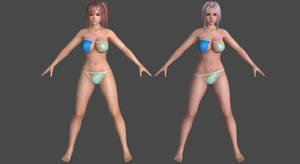 DoAX3 - Mint - Pack #1 for XPS! by DoraiBoonzu