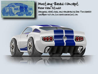 Mustang Concept- rear view by Turchenko