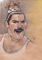 Sketchbook drafts - Freddy Mercury by RichkalElena