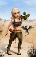 Khaleesi by RichkalElena