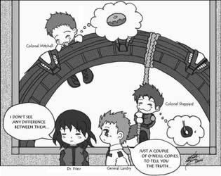 Stargate - Donut? by illusionaryennui