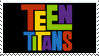 Teen Titans Fan Stamp by JRWenzel