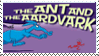 The Ant and the Aardvark Fan Stamp by JRWenzel