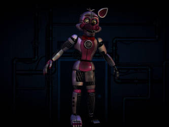 Withered Funtime foxy by WP21
