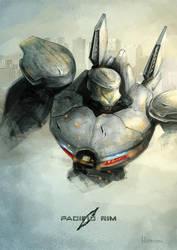 Battle Damaged Striker Eureka by WillFx
