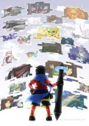 Finished comic cover! by Unu-Nunium