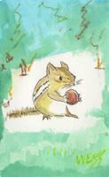 Quick Chipmunk by Edelslav