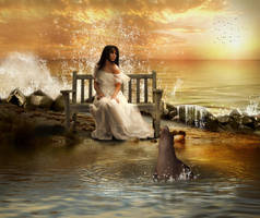 Solace at The Sea Shore by TL-Designz