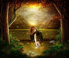 On golden Pond 2 by TL-Designz