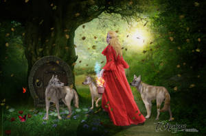 Enchanted In Red by TL-Designz