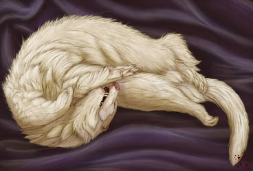 Sleeping Affliction by Laska-Eira