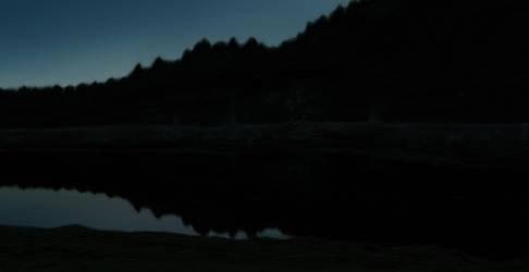 The Night River by Richardas