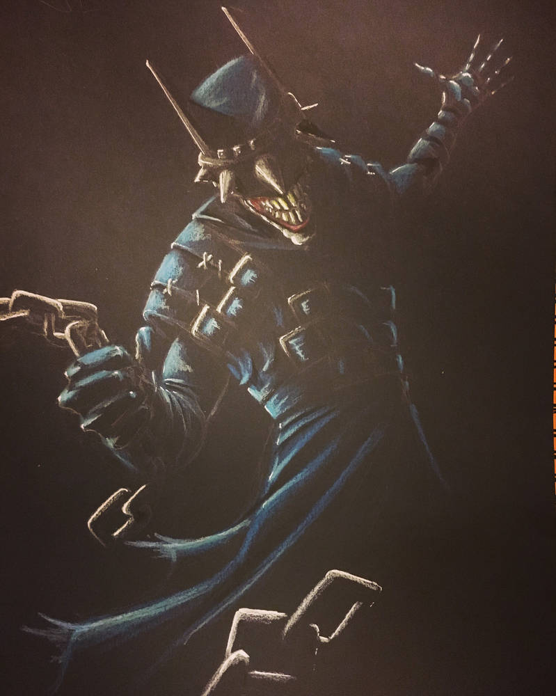 Batman that laughs  by sketcher298