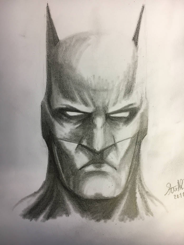 Batman  by sketcher298