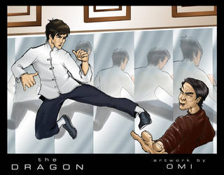 the dragon's kick by spidey0318
