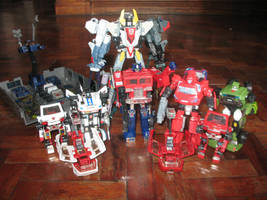 g1 and tfu autobot collection by spidey0318