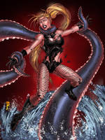 black canary captured by spidey0318