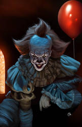 Pennywise the dancing clown by spidey0318