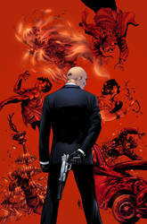 Agent 47: Birth of the Hitman #1 cover by spidey0318