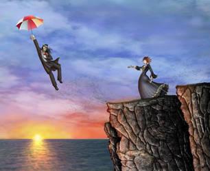 Umbrella Man: Viva la Vida by Rythmear
