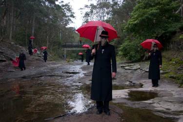 Umbrella Man 45 by Rythmear