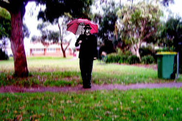 Umbrella Man by Rythmear