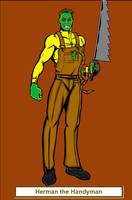 Herman the Handyman by Rythmear