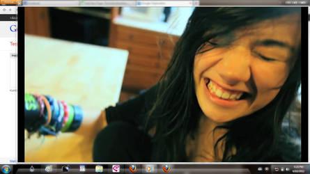 Kimmy Smiles - Lazy Song (Bruno Mars) ScreenShot 2 by citoela