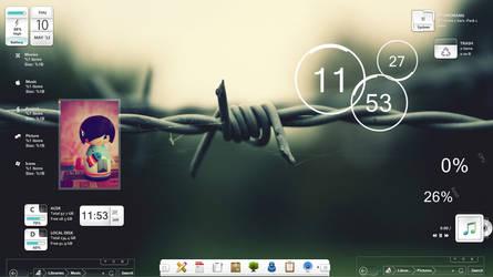 Laluna Desktop by citoela