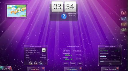 Simple Hero Desktop by citoela