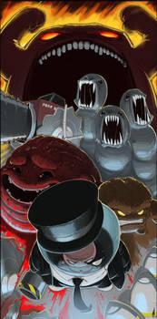 Meat Boy Boss Rush by TheNork