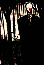 Slenderman by TheCrow33