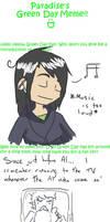 Green Day Meme by AdiosUnconsciousness