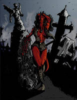 Hellgirl by jonathan-rector