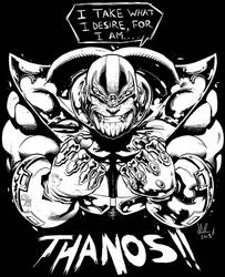 THANOS by jonathan-rector