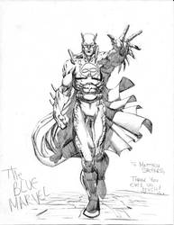 The Blue Marvel by jonathan-rector