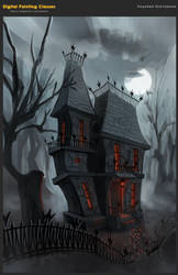 Victorian house by kate-aconite