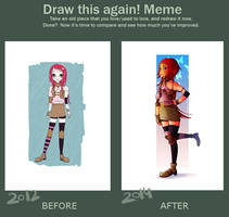 Draw this again ! Meme by eimiko-chan