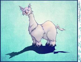 Bestiary - CatXGiraffeXLlamaXElephant by eimiko-chan