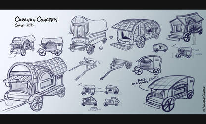 CHASE - Caravan Concepts by eimiko-chan